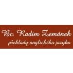 Zemánek Radim Bc.- překlady anglického jazyka – logo společnosti