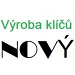 NOVÝ ROMAN - VÝROBA KLÍČŮ – logo společnosti