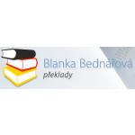 Překlady a tlumočení Blanka Bednářová – logo společnosti