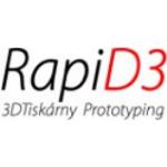 František John - RapiD3 3D tiskárny, prototyping – logo společnosti