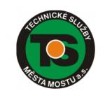 Technické služby města Mostu a.s. – logo společnosti