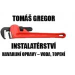 Gregor Tomáš - instalatérství – logo společnosti