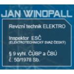 Winopall Jan- REVIZE ELEKTRO – logo společnosti