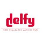 DELFY s.r.o. (pobočka Most-Velebudice) – logo společnosti