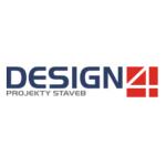 DESIGN 4 - projekty staveb, s.r.o. – logo společnosti
