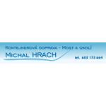 Michal Hrach Kontejnerová Doprava-Most a Okolí – logo společnosti