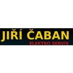 Jiří Čaban - elektro servis – logo společnosti