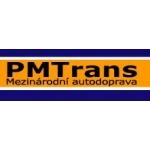 PMTrans - mezinárodní autodoprava – logo společnosti