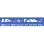 JUDr. Jitka Růžičková - advokátní kancelář Praha – logo společnosti