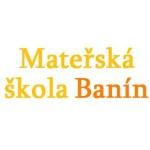 Mateřská škola Banín – logo společnosti