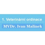 MVDr. Ivan Malínek - veterinární ordinace – logo společnosti