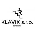 KLAVIX s.r.o. - schodiště – logo společnosti