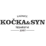 Kočka Josef- Tesařství Kočka a syn – logo společnosti