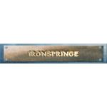 IronSpringe s.r.o. – logo společnosti