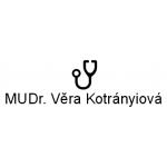 MUDr. Věra Kotrányiová – logo společnosti
