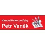 Vaněk Petr - papírnictví – logo společnosti