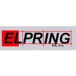 ELPRING CZ, a.s. - Projektování a montáž silnoproudých elektrických rozvodů a zařízení – logo společnosti