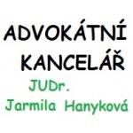 Hanyková Jarmila, JUDr., advokátka – logo společnosti