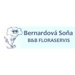 Soňa Bernardová- B&B FLORASERVIS – logo společnosti