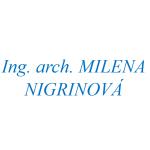Ing.arch. MILENA NIGRINOVÁ – logo společnosti