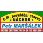 Maršálek Petr- P.M. provádění staveb Náchod – logo společnosti