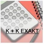 K + K EXAKT s.r.o. – logo společnosti