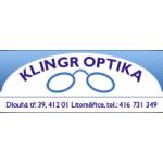 KLINGR - OPTIKA s.r.o. – logo společnosti