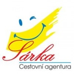 Šárka Koucká - Cestovní agentura Šárka – logo společnosti