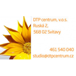 DTP centrum, v.o.s. – logo společnosti