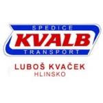 Kvaček Luboš - AUTODOPRAVA KVALB – logo společnosti