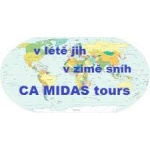 Bošek Miloslav- CA MIDAS TOURS – logo společnosti