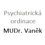 MUDr. VANĚK JAROSLAV- PSYCHIATRICKÁ ORDINACE – logo společnosti
