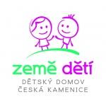 """Dětský domov """"Země dětí"""" a Školní jídelna, Česká Kamenice, Komenského 491, příspěvková organizace – logo společnosti"""