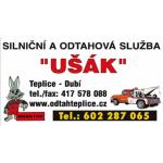Silniční a odtahová služba UŠÁK – logo společnosti