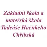 Základní škola a mateřská škola Tadeáše Haenkeho Chřibská, příspěvková organizace – logo společnosti