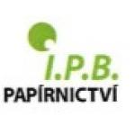 Papírnictví I.P.B. – logo společnosti