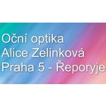 Alice Zelinková- OČNÍ OPTIKA – logo společnosti