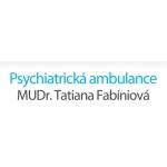 MUDr. Tatiana Fabíniová - psychiatrická ambulance – logo společnosti