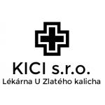 KICI s.r.o. - Lékárna U Zlatého kalicha – logo společnosti