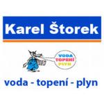 Karel Štorek - voda, topení, plyn – logo společnosti