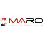 MARO s.r.o., obchod a projekce – logo společnosti