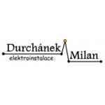 Milan Durchánek - elektroinstalace – logo společnosti