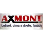 AXMONT s.r.o. - okna, dveře – logo společnosti