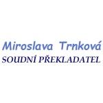 MIROSLAVA TRNKOVÁ - SOUDNÍ PŘEKLADATEL – logo společnosti