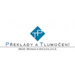 PŘEKLADY A TLUMOČENÍ - Mgr. Monika Hradilová – logo společnosti