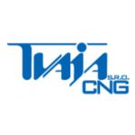 TVAJA CNG s.r.o.- plnicí stanice – logo společnosti