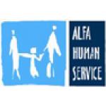 Alfa Human Service – logo společnosti