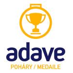 ADAVE - POHÁRY, MEDAILE s.r.o. (sídlo firmy) – logo společnosti