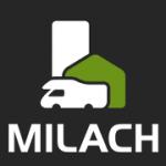 Milach s.r.o. - pronájem domů, bytů, karavanů – logo společnosti