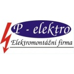 P - elektro, s.r.o. - elektromontážní materiál – logo společnosti